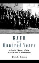 Lehigh University Press - Bach for a Hundred Years