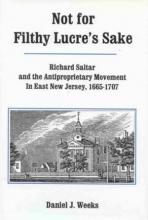 Lehigh University Press - Not for Filthy Lucre's Sake